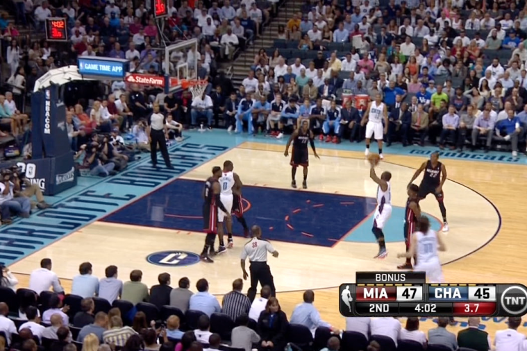 Bobcats' Kemba Walker Throws Pass off Backboard to Himself, Converts Layup