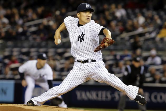 Yankees' Masahiro Tanaka Has 3rd-Most Strikeouts Through 5 Starts in MLB History