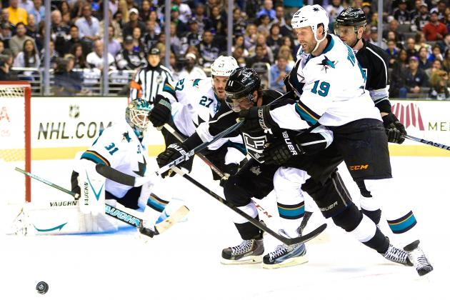 San Jose Sharks vs. Los Angeles Kings Game 6: Live Score and Highlights