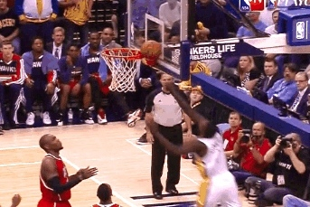 Lance Stephenson Wedgies Wide-Open Dunk Attempt