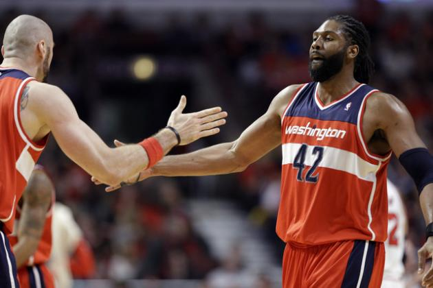 Why Nene-Marcin Gortat Front Line Works So Well for Washington Wizards