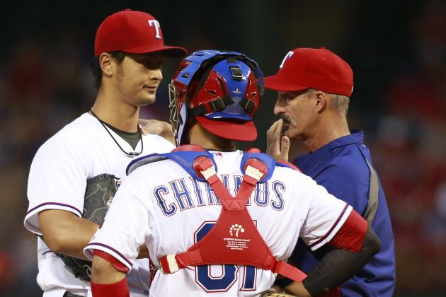 Darvish Gets Full Dose of Team That Torments Him Most