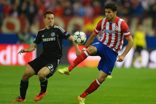 How Atletico Madrid Will Line Up Against Chelsea