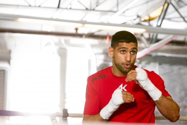 Amir Khan Given Huge Luis Collazo Warning by Ricky Hatton