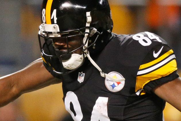 Report: Steelers WR Antonio Brown Has Fired Agent Drew Rosenhaus