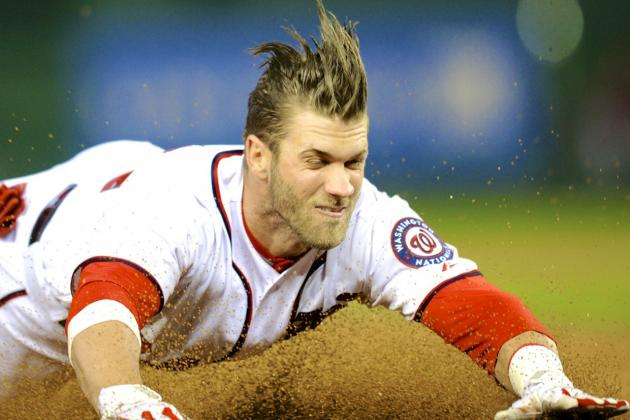 Bryce Harper's Injury Leaves Nationals Hustling to Keep Up in Tough NL East