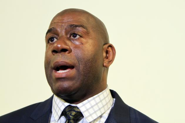 Magic Johnson Would Be Interested in Buying Clippers, Source Says