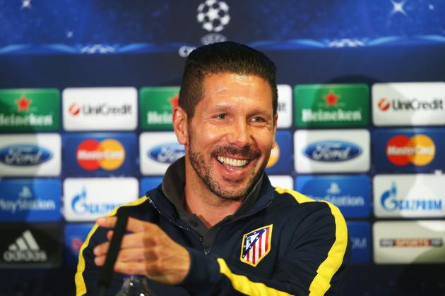 Chelsea vs. Atletico Madrid: Key Takeaways from Diego Simeone's Pregame Presser