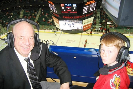 Peter Maher, Voice of Flames Since '80, Retires