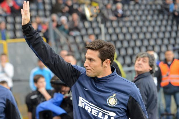 Javier Zanetti Will Retire to Inter Milan Front Office at Season's End