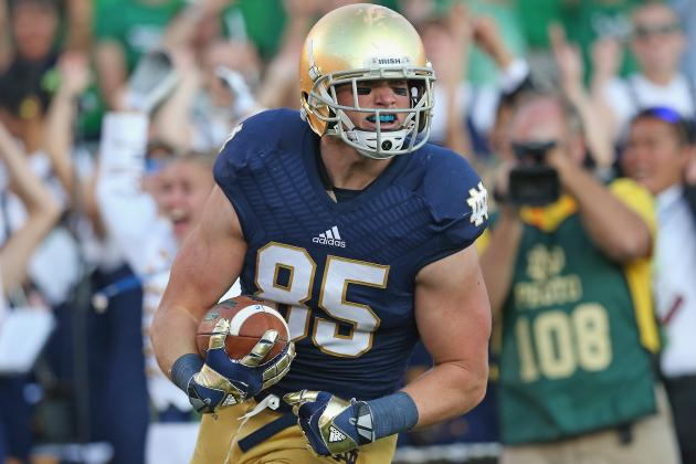Notre Dame TE Troy Niklas Compares Himself to Heath Miller