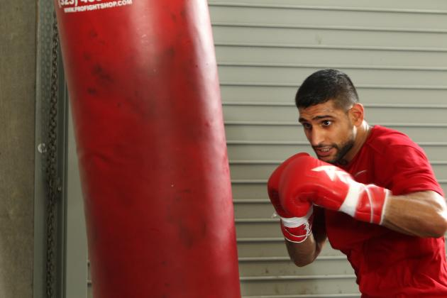 Amir Khan and Luis Collazo Fighting to Be Next in Line for Floyd Mayweather