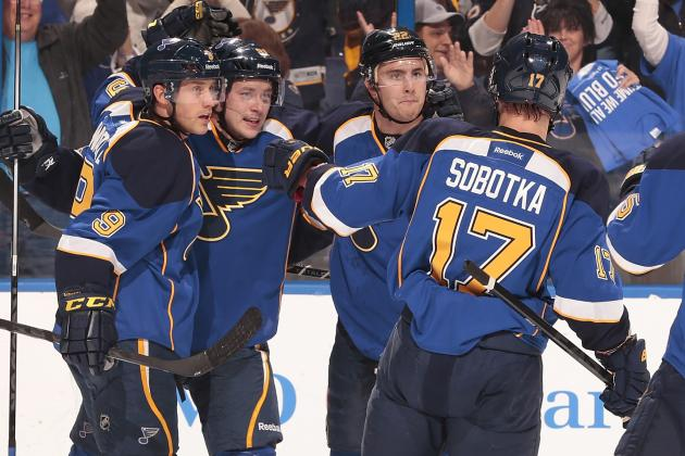 Armstrong Wonders If the Blues Need a 'different Formula' on Offense