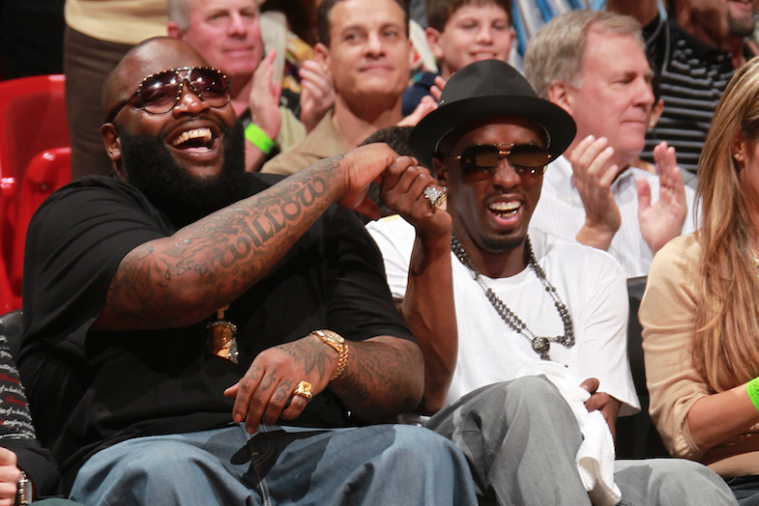 Rick Ross, Diddy Both Express Interest in Buying the Los Angeles Clippers