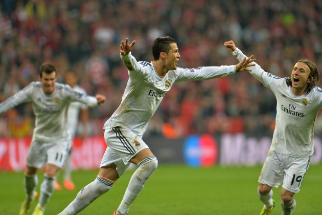 Cristiano Ronaldo Free-Kick Completes Real Madrid Demolition of Bayern Munich