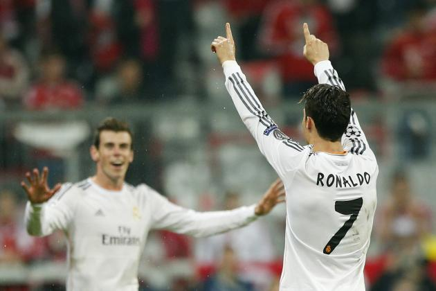 Bayern Munich vs. Real Madrid: Live Player Ratings