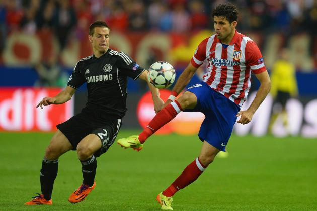 Chelsea vs. Atletico Madrid: Simulating Champions League Semi-Final on FIFA 14
