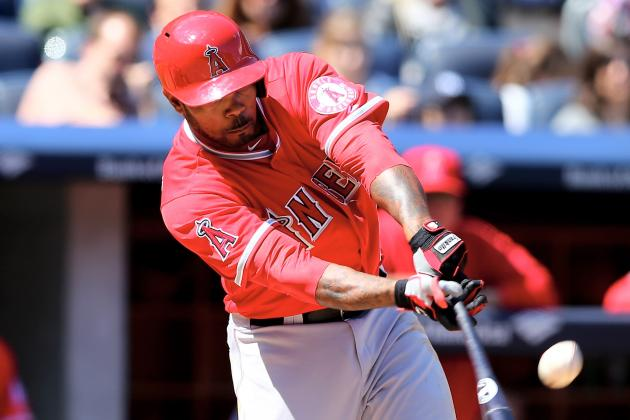 Angels Lineup: Kendrick Leading off for 1st Time in '14