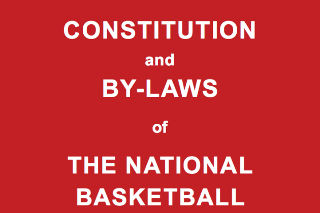 NBA Releases Its Formerly Secret Constitution