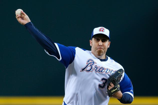 What Has Gotten into Braves' Surprising Star Aaron Harang in 2014?