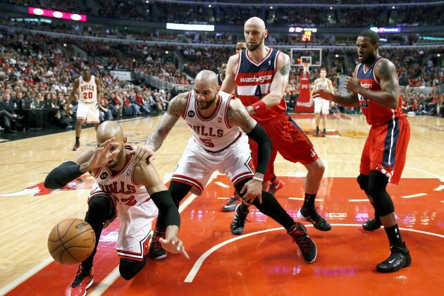 Fight Breaks Out in Stands During Game 5 of Bulls-Wizards Series