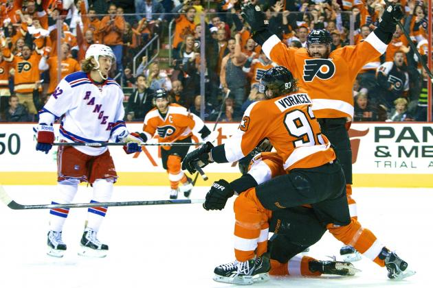 Rangers vs. Flyers: Game 6 Score and Twitter Reaction from 2014 NHL Playoffs