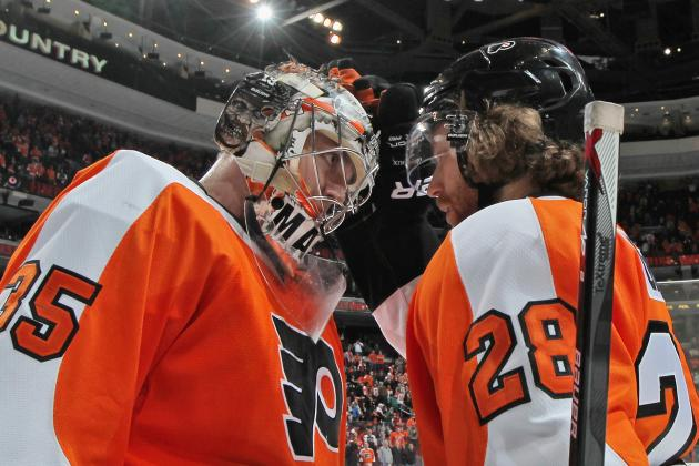 Mason Says Flyers Fans' Support Sent Chills Down His Spine