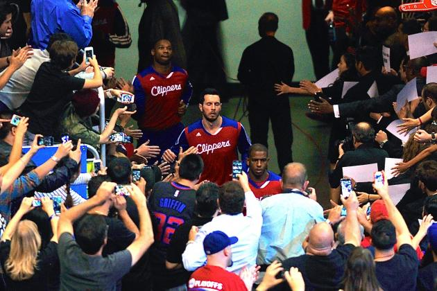 Staples Center Fans Give L.A. Clippers Standing Ovation Before Game 5