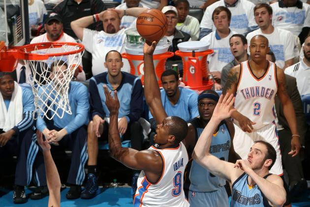 Serge Ibaka's Potential Game-Winning Tip-In Comes Right After Buzzer