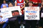 Clippers Fans React to Sterling's Lifetime Ban...