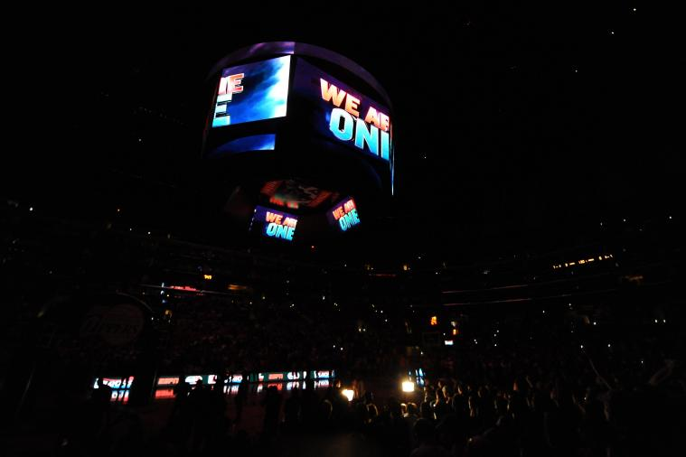Clippers Fans Chant 'We Are One' During Game 5 at Staples Center