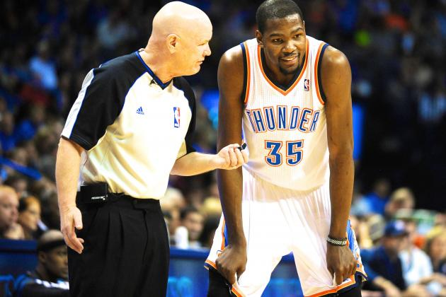 Vilified NBA Referee Joey Crawford Steals Kevin Durant's Thunder in OKC Loss