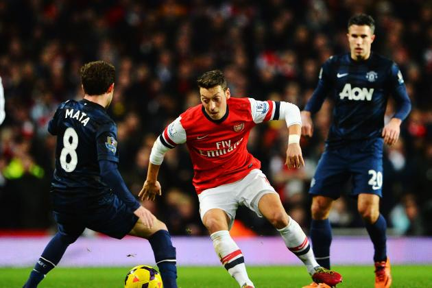 Mesut Ozil vs. Juan Mata: Breaking Down What the Two Sides Paid Per Key Stats