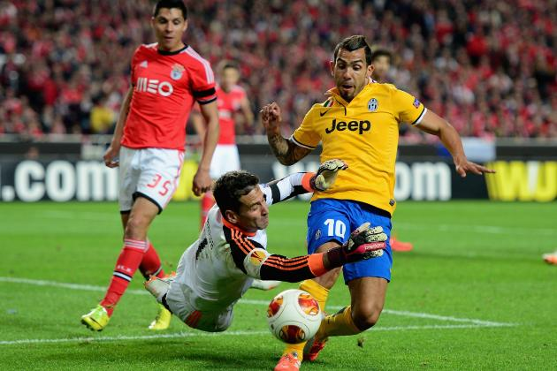 Juventus vs. Benfica: Date, Time, Live Stream, TV Info and Preview