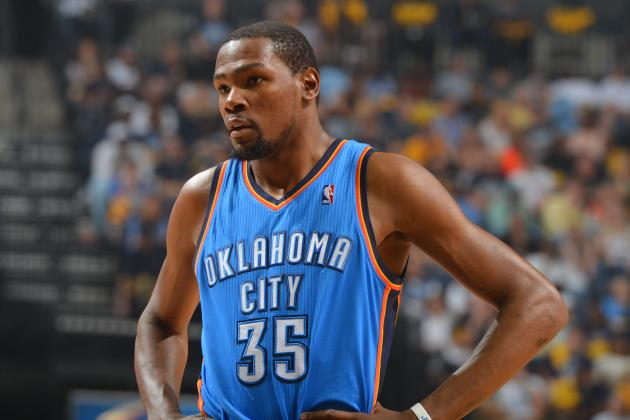 MVP Favorite Kevin Durant Facing Major Pressure to Save OKC Thunder Season