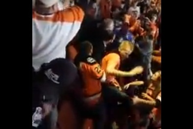 Fan Brawl Breaks out at Flyers-Rangers Game, Philadelphia Fans Show No Mercy