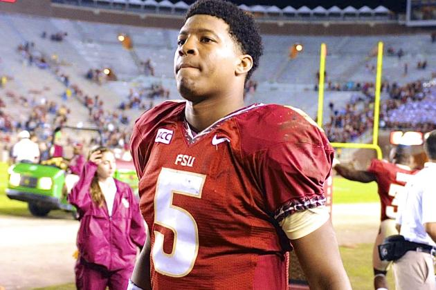 Jameis Winston Suspended from FSU Baseball Team After Being Issued Citation