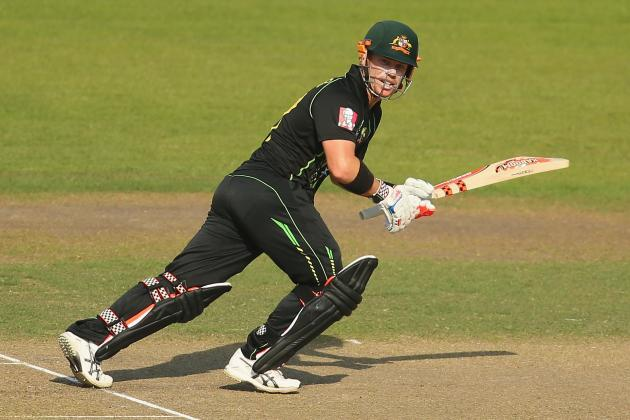 David Warner Plays Reverse Cut Shot for Sunrisers Hyderabad in IPL