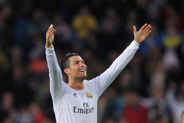 Real Madrid's Cristiano Ronaldo Sets Champions League Goal-Scoring Record