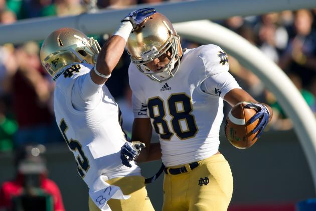 Notre Dame Football: Young Receiving Corps Key to Irish Success