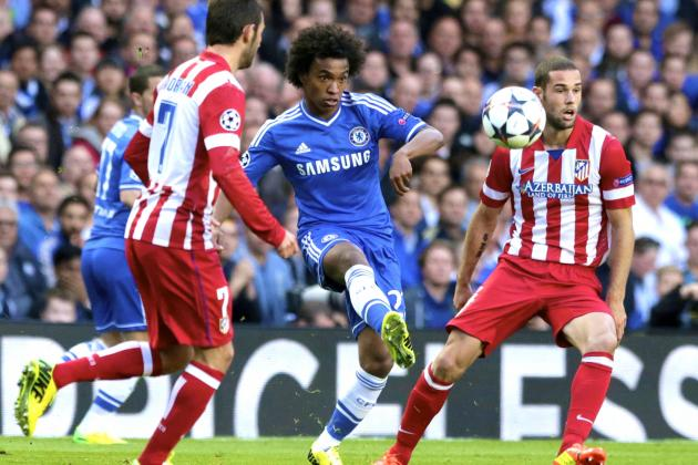 Chelsea vs. Atletico Madrid: Champions League Live Score, Highlights, Report