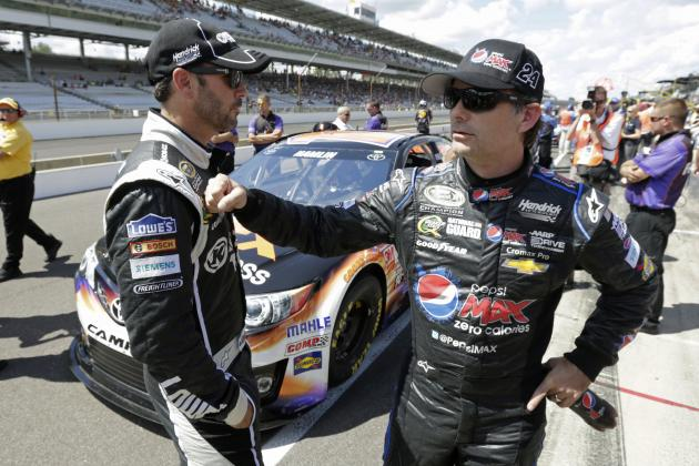 Jeff Gordon or Jimmie Johnson: Which Winless Driver Should Be More Concerned?