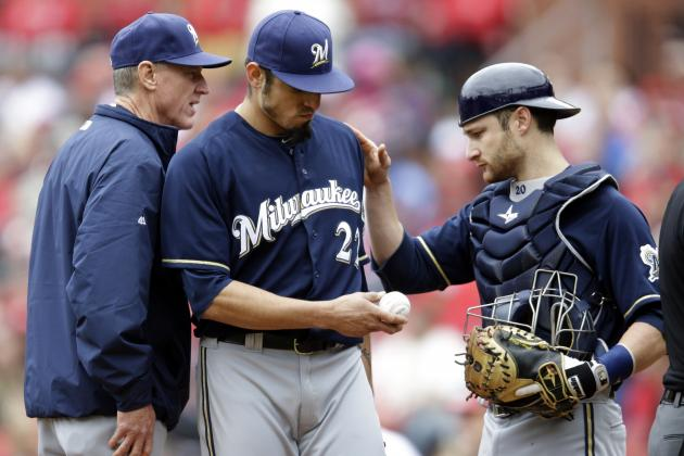Matt Garza Injury: Updates on Brewers Pitcher's Thumb and Return