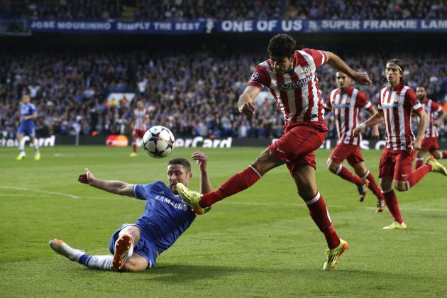 Diego Costa Penalty Puts Atletico Madrid 2-1 Up Against Chelsea