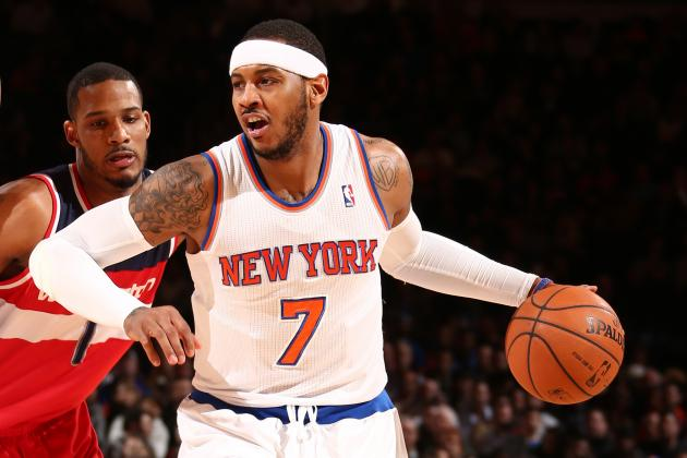 Report: Phil, Carmelo Talk Kerr, Free Agency