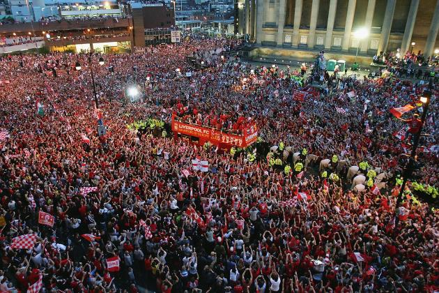 Liverpool Plan Premier League Trophy Parade, Steward's Job Advertised