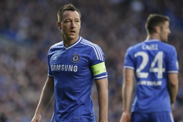 John Terry in Tears After Chelsea Lose Champions League Semi to Atletico Madrid