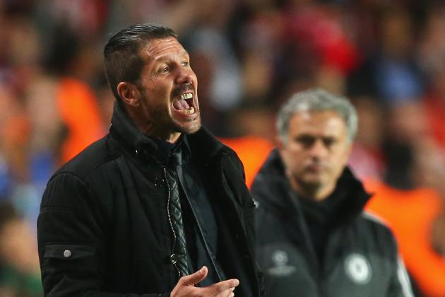 Chelsea vs. Atletico Madrid: Post-Match Reaction of Jose Mourinho, Diego Simeone