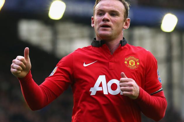 Wayne Rooney's Prospects of Captaining Manchester United Dented by Moyes Exit