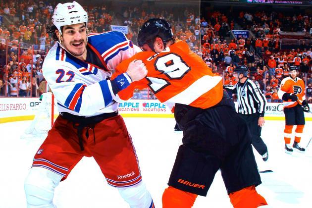 Philadelphia Flyers vs. New York Rangers Game 7: Live Score and Highlights